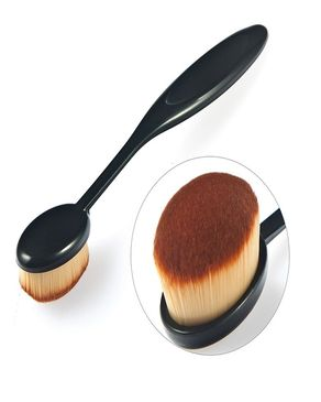 Oval Makeup Brush L - Black