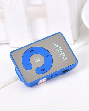 Hedge Over MP3 With Micro SD Mp3 - Blue