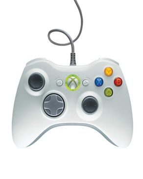 Games Arena Controller for PC & Xbox 360 - White