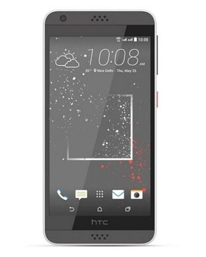 HTC Desire 630 - 2GB RAM - Sprinkle White - With Free Snap Case Cover