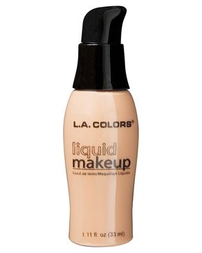 L.A Colors Pump Liquid Makeup Foundation - Natural