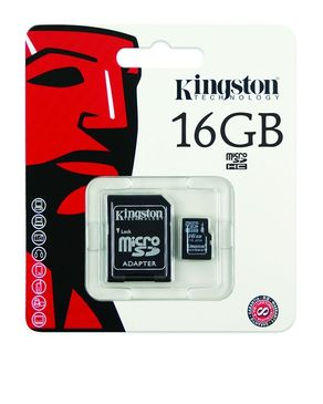 Kingston Memory Card-16GB-Black
