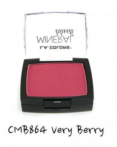 L.A Colors Mineral Blush - Very Berry