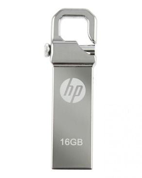 HP - 16GB - USB 2.0 Flash Drive - Silver