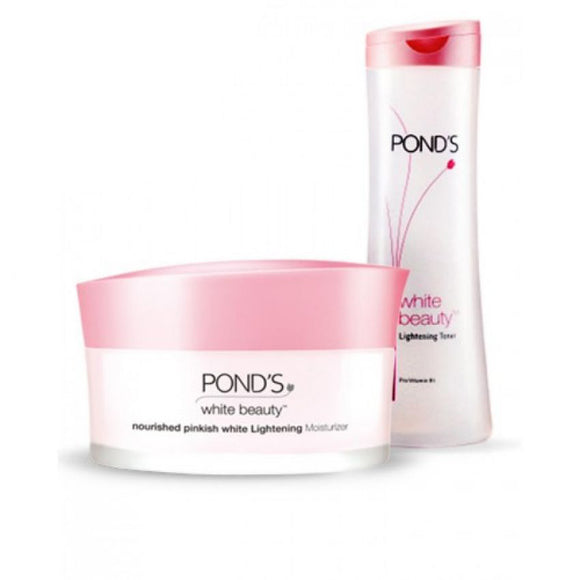 Combo of Ponds White Beauty Toner and Ponds White Beauty Cream