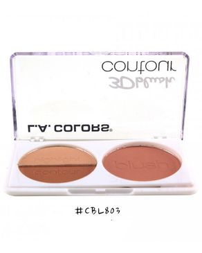 L.A Colors 3D Blush Contour - Crush