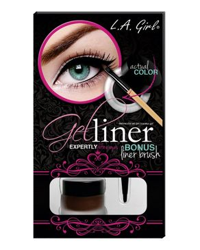 L.A Girl Gel Liner Kit - Brown