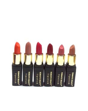 Eyeshah's Pack of 6 - Romantic Beauty Lipsticks