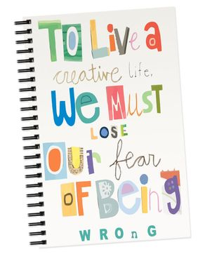 I Am Official I A M0118 - Spiral Notebook - White