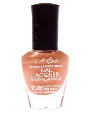 L.A Girl Nail Lacquer Diamond & Tea Extract French Kiss