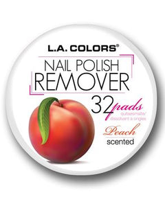 L.A Colors Nail Polish Remover Pads - Peach Scent
