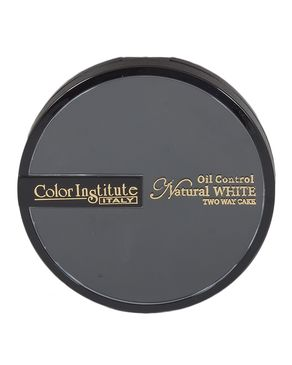 Color Institute Natural Two Way Cake Face Powder  - Shade 3