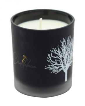 Bay Homes Vanilla Scented Glass Candles - GL-CND-004B