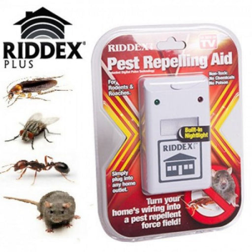Set of 2 Riddex Pest Repelling Aid