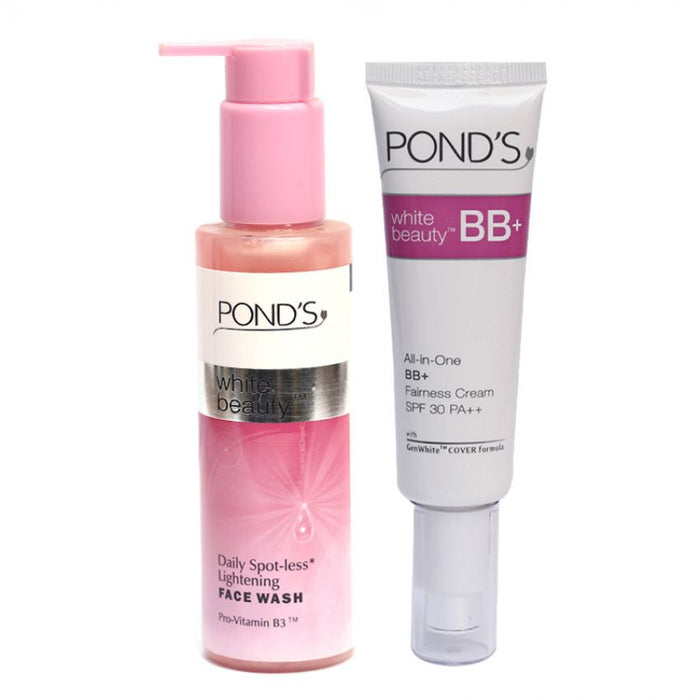 Combo of White Beauty 1 Face Wash + 1 BB Cream