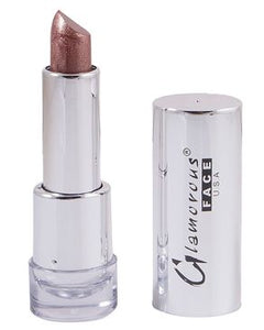 Glamorous Face Enticement Shimmer Lipstick For Women - Brown