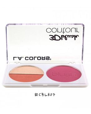 L.A Colors 3D Blush Contour - True Love