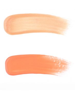 Luscious Double Dazzle Lip Gloss - Peaches & Cream