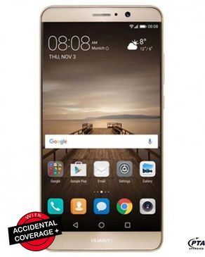 Huawei Mate 9 - 64GB ROM - 4GB RAM - 20MP Camera - Android - Champagne Gold - 4G LTE