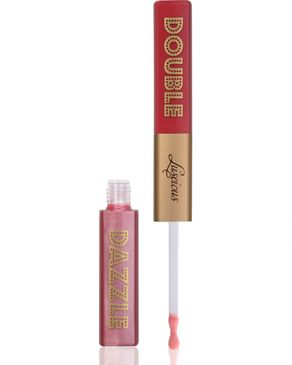Luscious Double Dazzle Lip Gloss - Sassy & Coy