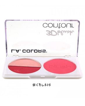 L.A Colors 3D Blush Contour - Love Me