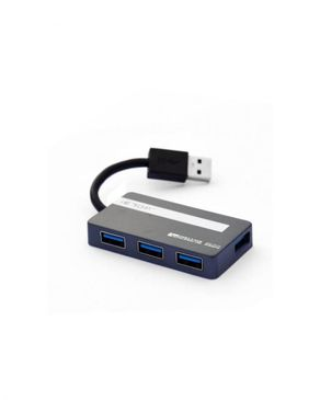 USB 3.0 Hub 4 Port U3-13 IE Top - Black