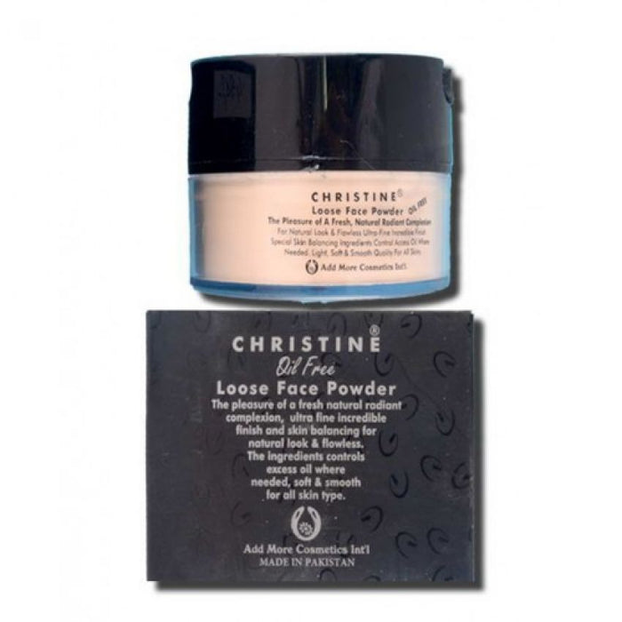 Christine  Loose Face Powder (NATURAL 318)