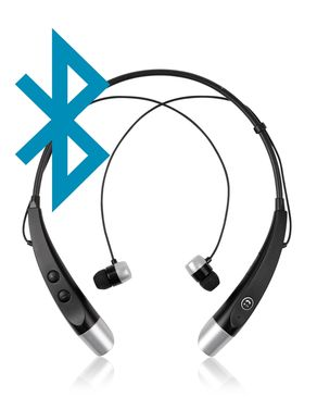 Bluetooth 4.1 - Stereo Wireless Neckband Earphones Headset With Microphone
