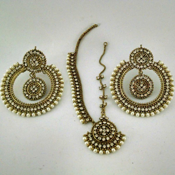 Golden Earrings for Her