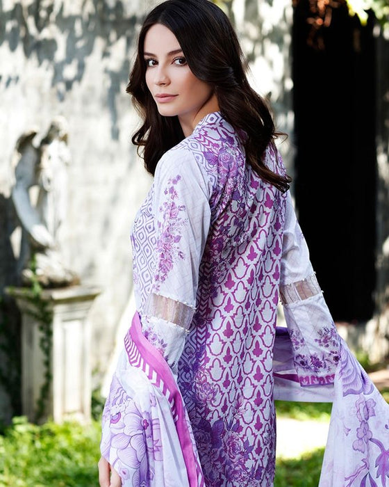 Gul Ahmed Lilac Spring/Summer 2017 Collection Printed Lawn-CL # 216 A