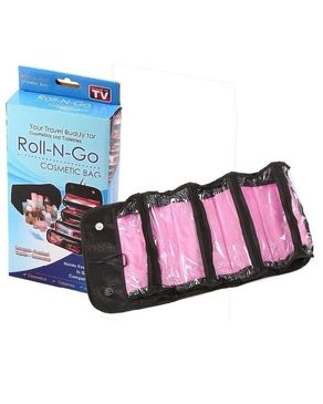 Eyeshah's Roll N Go Cosmetic Bag - Black