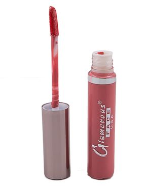 Glamorous Face Liquid Lipstick for Women - Red