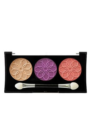 L.A Colors 3 Color Eyeshadow Palette Magnolia
