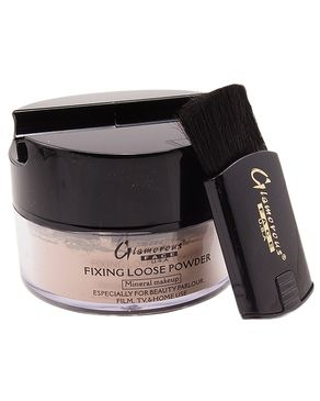 Glamorous Face Face Fixing Loose Powder - Beige