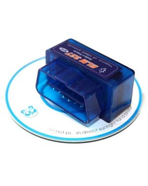 Silicon ELM327 - Bluetooth OBD2 V2.1 Car Diagnostic Interface Tool - Blue