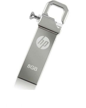 HP - 8GB - USB 2.0 Flash Drive - Silver
