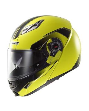 Easy Quantum Helmet with Built-in Bluetooth Headset - Yellow