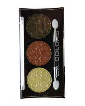 L.A Colors 3 Color Eyeshadow - Dandelion