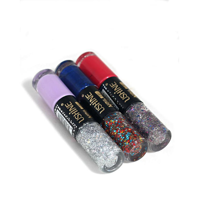 Pack Of 6 Azadi Deal Ushine Nail Polishes