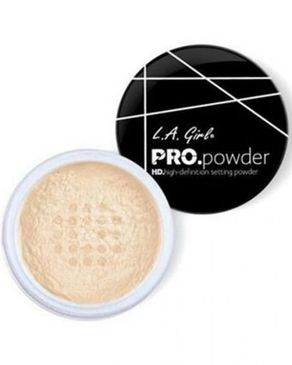 L.A Girl PRO Setting HD Powder - Banana Yellow