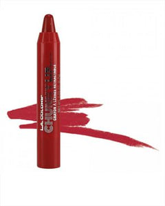 L.A Colors Chunky Lip Pencil - Deep Red