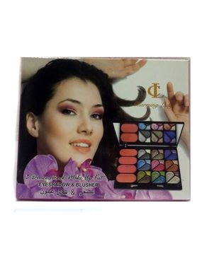 Eyeshah's Charming Lady Makeup Kit - Multicolor