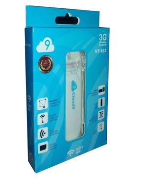 VITALBRANDS USB cloud 9 3G Sim Support - WiFi Dongle  VT-183
