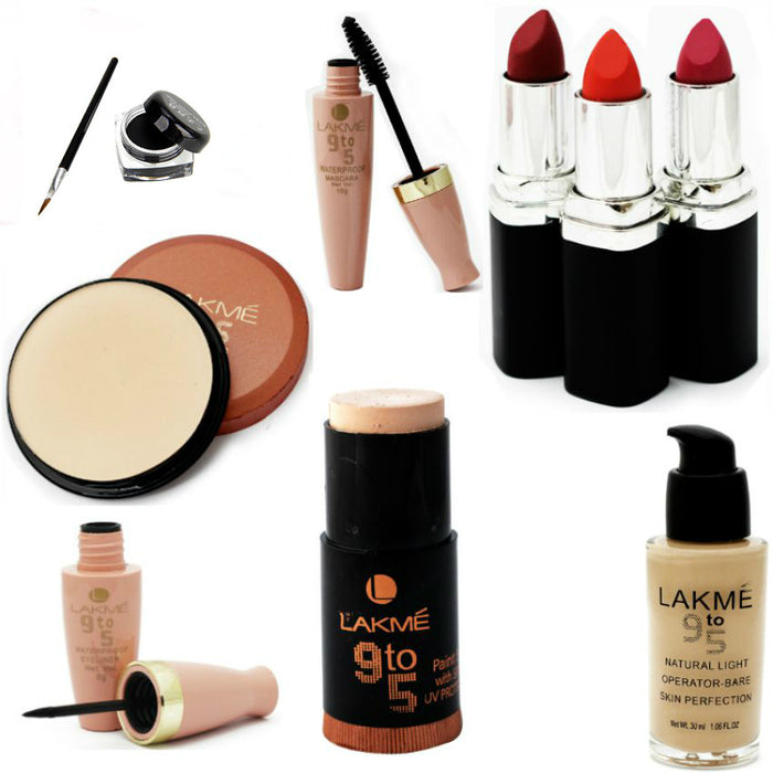Pack of 9 Lakme Cosmetics for Her