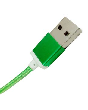 HashTag USB Data Cable-Green