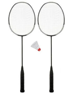 Pack of 3 - Racket With Plastic Shuttle