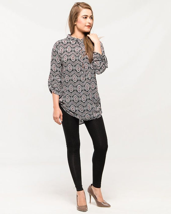 Mardaz Multicolor Stylish cotton shirt for women