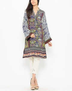 Origins Multicolourn Di Lawgital Printed Kurta for Women - 15SE134