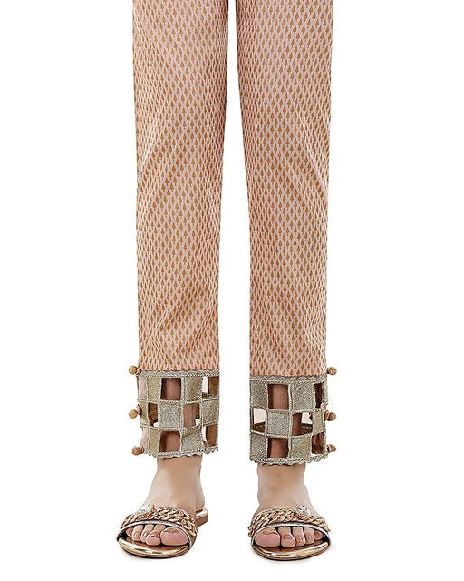 Lala Skin Cambric Print Fantaisie Trouser Collection
