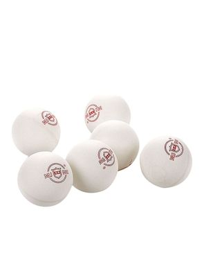 Pack of 6 - Shield Table Tennis Balls